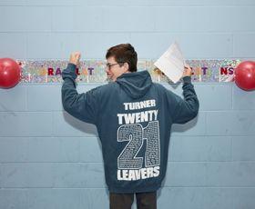 Ryan Turner back of sweatshirt